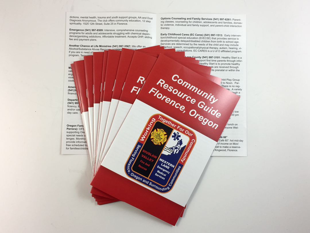 SVFR – Community Resource Booklet