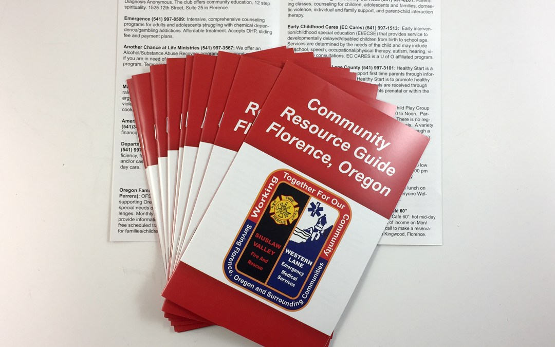 SVFR – Community Resource Booklet