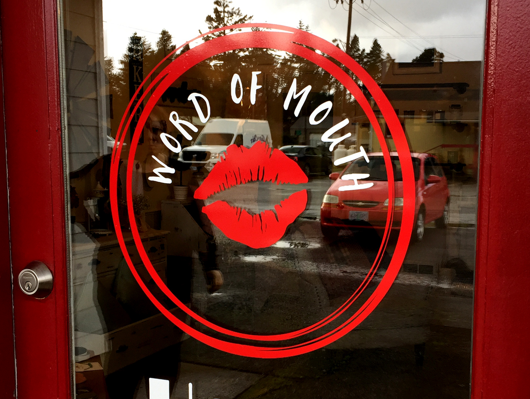 Word of Mouth Home Decor – Vinyl Graphics