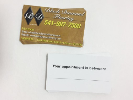 Black Diamond Flooring – Business Cards