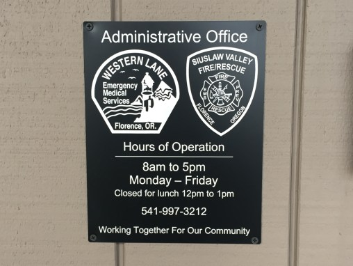 SVFR – Engraved Sign