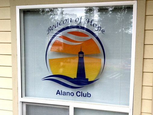 Alano Club – Clear Window Cling