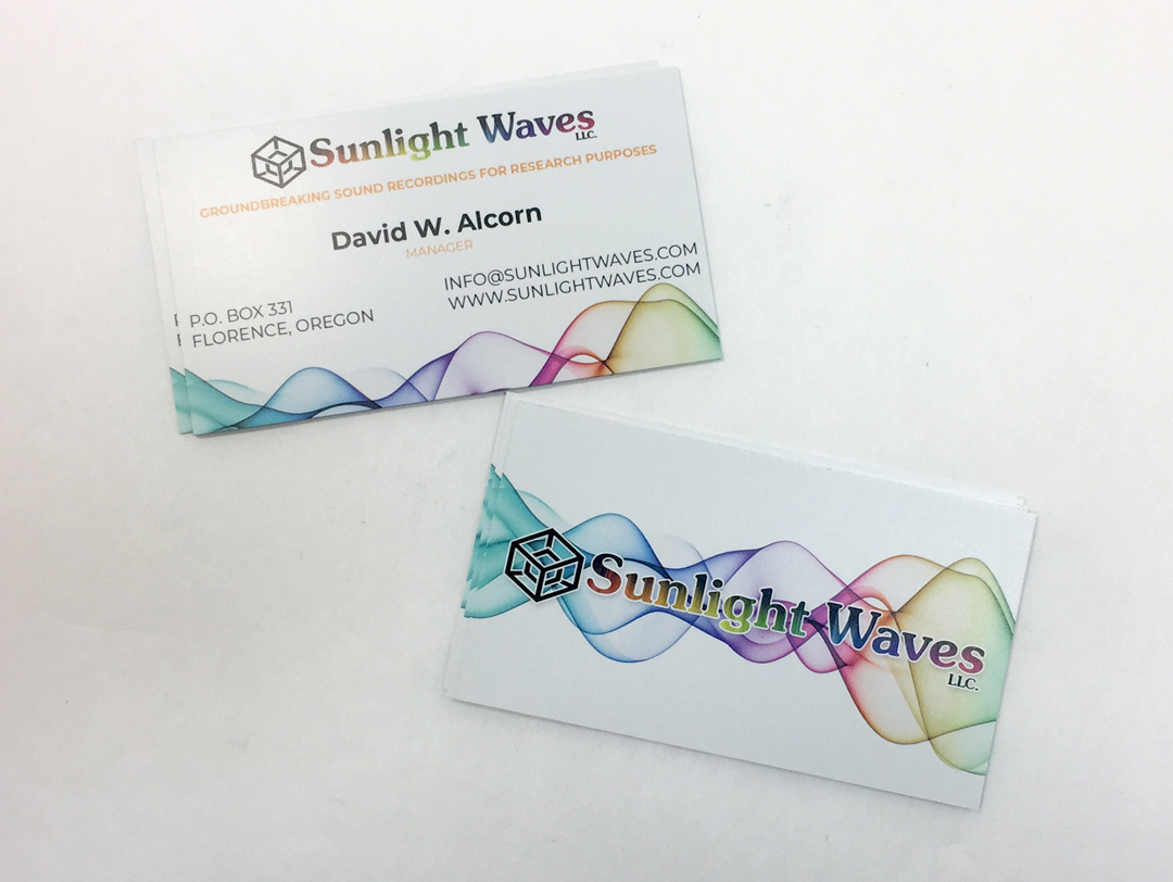 Sunlight Waves – Business Card