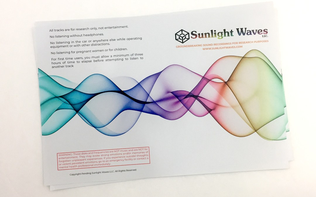 Sunlight Waves – DVD Cover