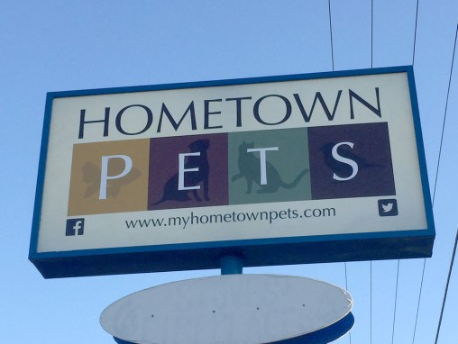 Hometown Pets – Sign