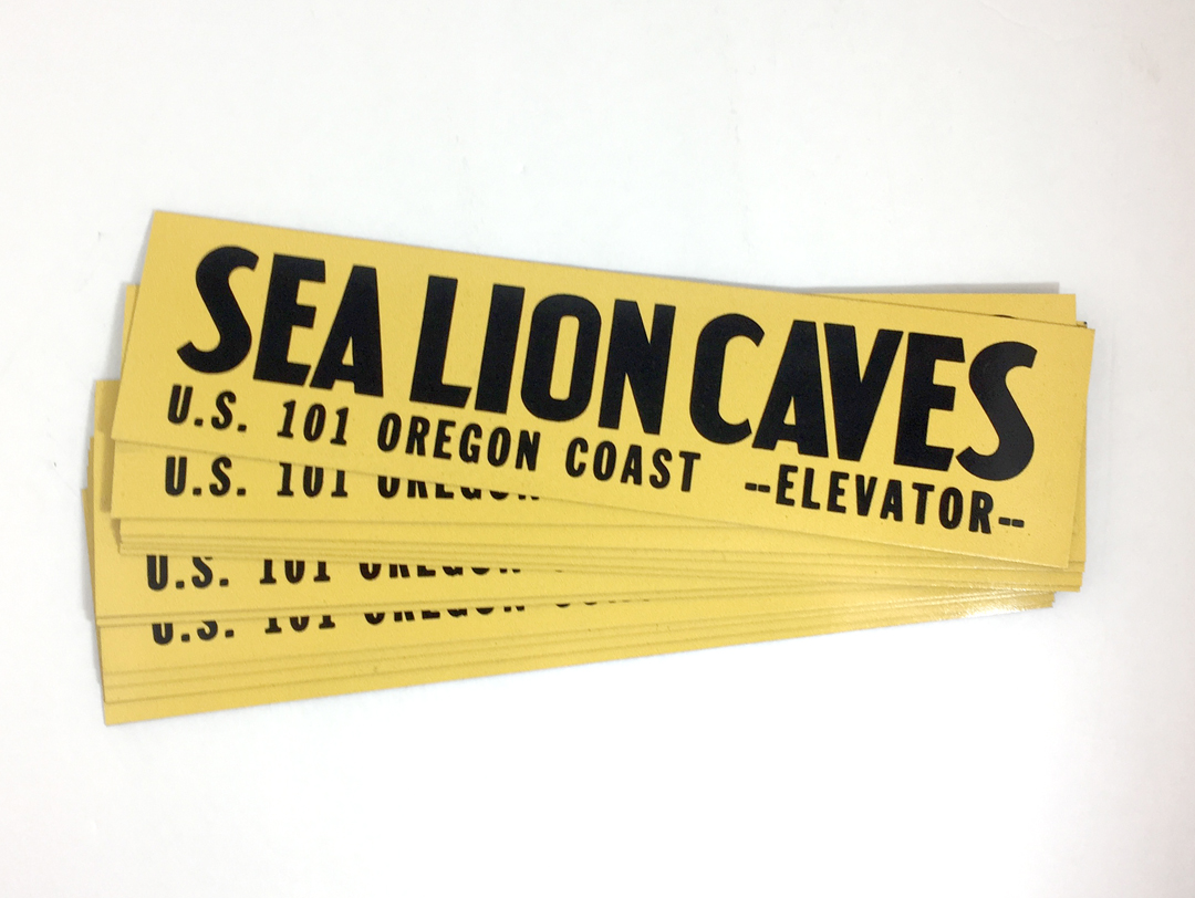 Sea lion Caves – Car Magnets