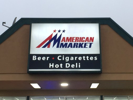 American Market – Sign