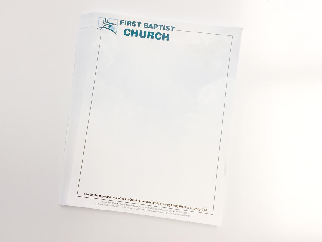 First Baptist Church – Letterheads