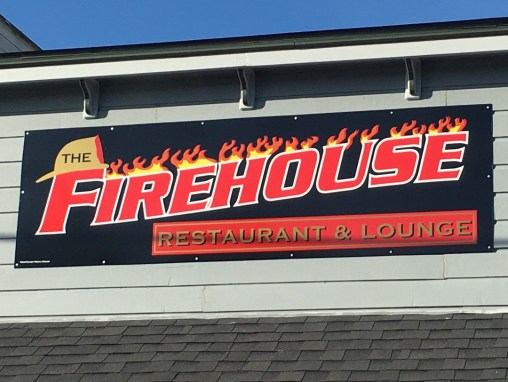 The Firehouse Restaurant – Sign