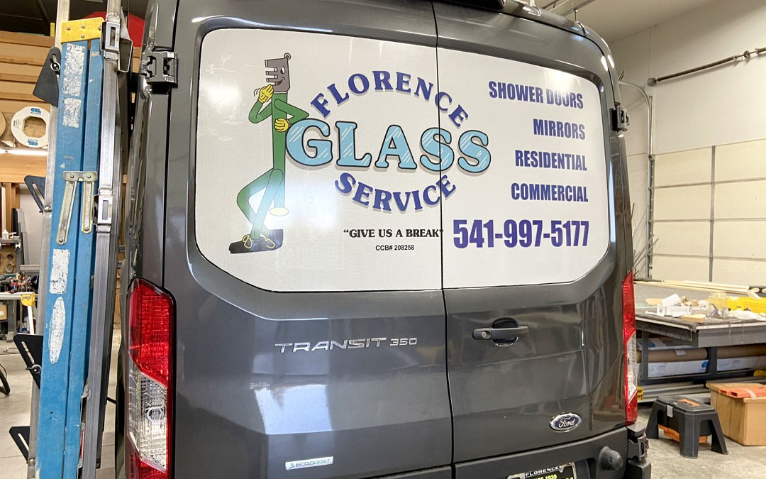 Florence Glass – See Thru Window Vinyl
