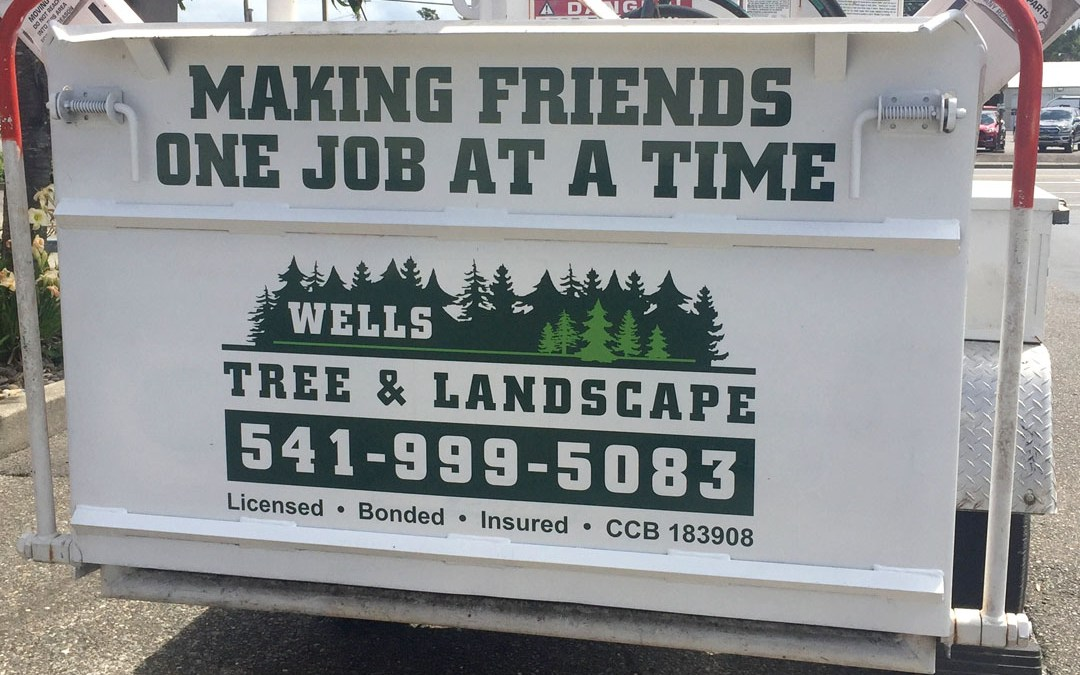 Wells Tree & Landscaping – Vinyl Graphics