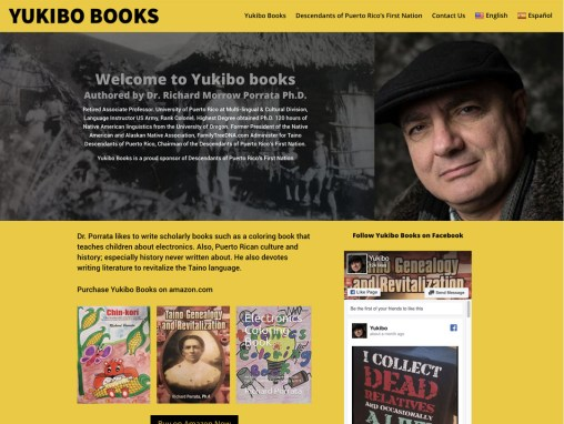 Yukibo Books – Website