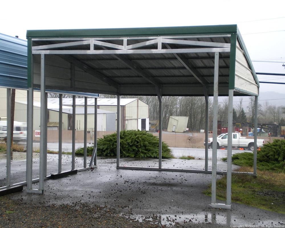 West Coast Metal Buildings Lean To C Carports Garages