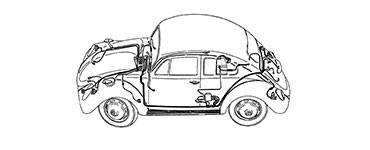 1970 beetle wiring diagram 2006 honda civic audio vw parts bug or bus volkswagen for your electrical