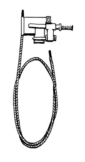 LEFT, SUNROOF CABLE, BUS 1968-79 (Not in stock due to poor