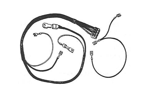 WIRING REPAIR KIT, BUG SEDAN 1956-57, BUG CONV. 1956-64