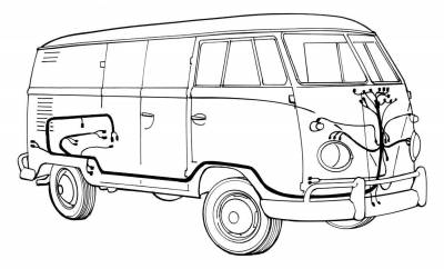 67 Vw Bus Wiring Harness : 24 Wiring Diagram Images