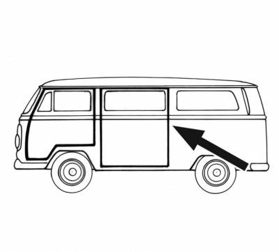 Vw Vanagon Sliding Door Vanagon Flooring Wiring Diagram