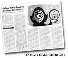 Georgia Straight Newspaper