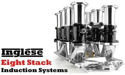 Inglese™ Eight Stack System w/ EZ-EFI 2.0®; Small Block