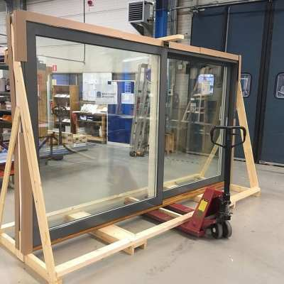 New distributor, Alchemy Projects visits Westcoast Windows in Sweden