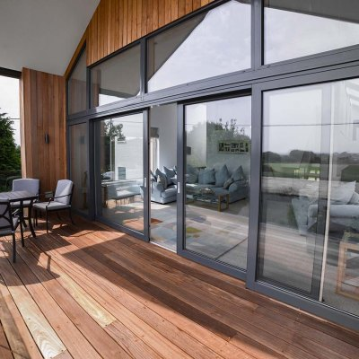 Composite sliding doors for all seasons – bring the outside in, in any weather