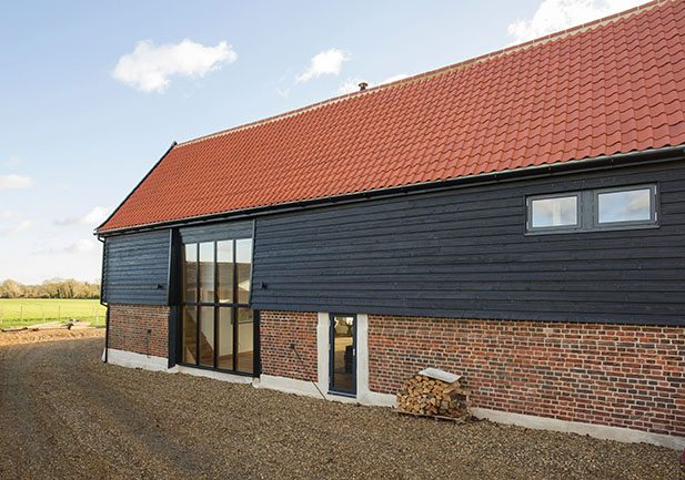 Why Westcoast Windows Swedish composite glazing was the perfect choice for this spectacular South Norfolk barn conversion and extension