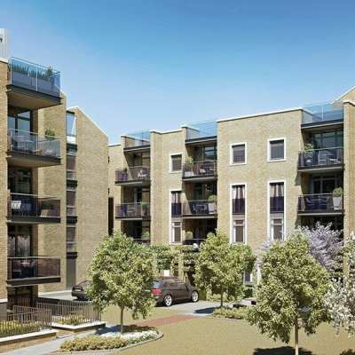 Westcoast Windows Swedish designed and manufactured composite windows and doors are the perfect glazing solution for a new complex of contemporary apartments in Isleworth, West London
