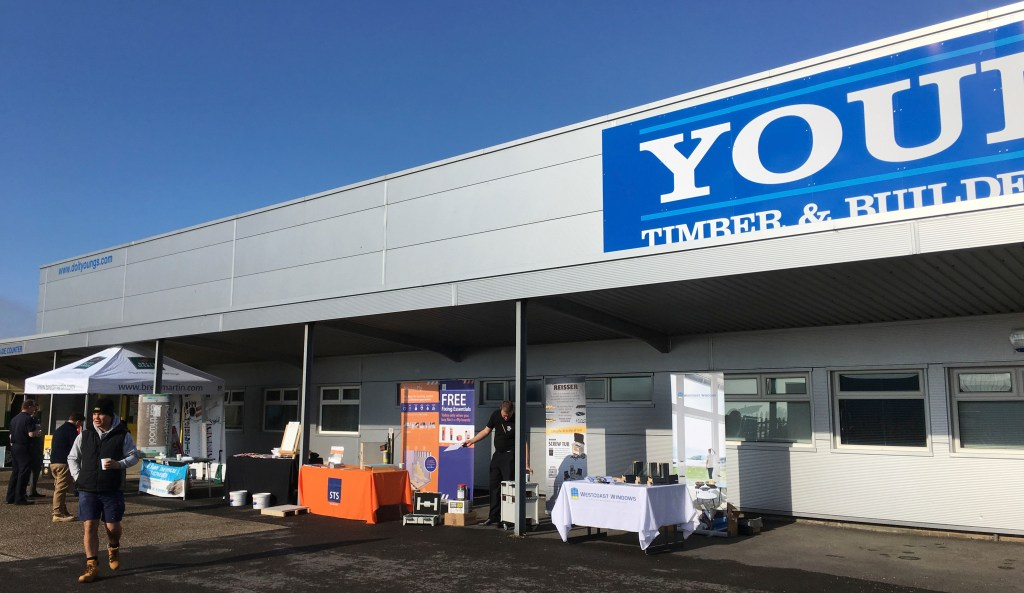 Young's Timber & Builders Merchants expand their offering with a new branch opening in Folkstone