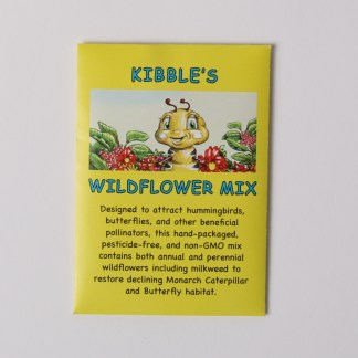 Anita Gnan #1 children's book kibble the monarch caterpillar wildflower seed mix