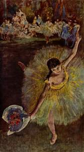 Fin d'Arabesque, with ballerina Rosita Mauri, 1877, Musée d'Orsay, courtesy of Wikipedia.