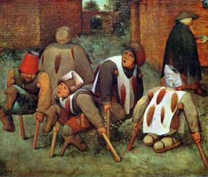 The Beggars - Pieter Bruegel the Elder, courtesy of Wikipedia