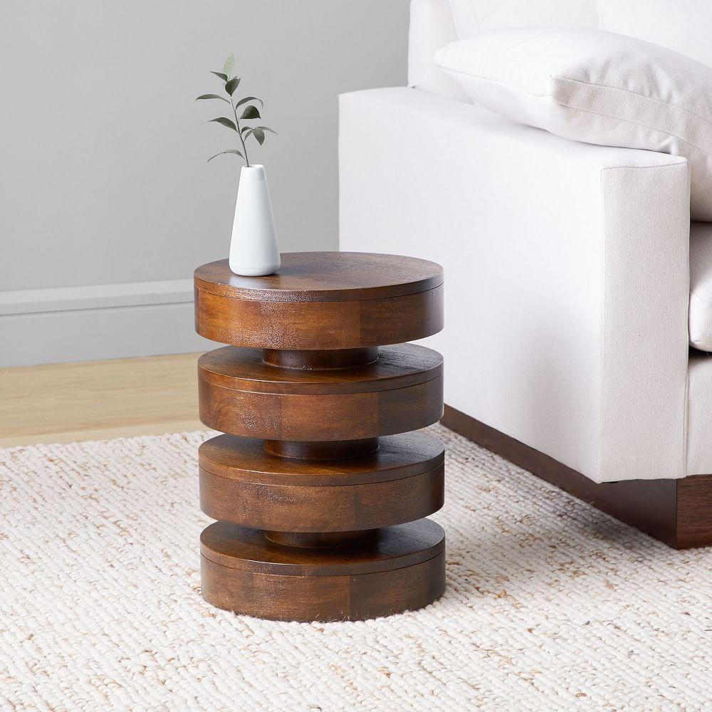 floating disks side table