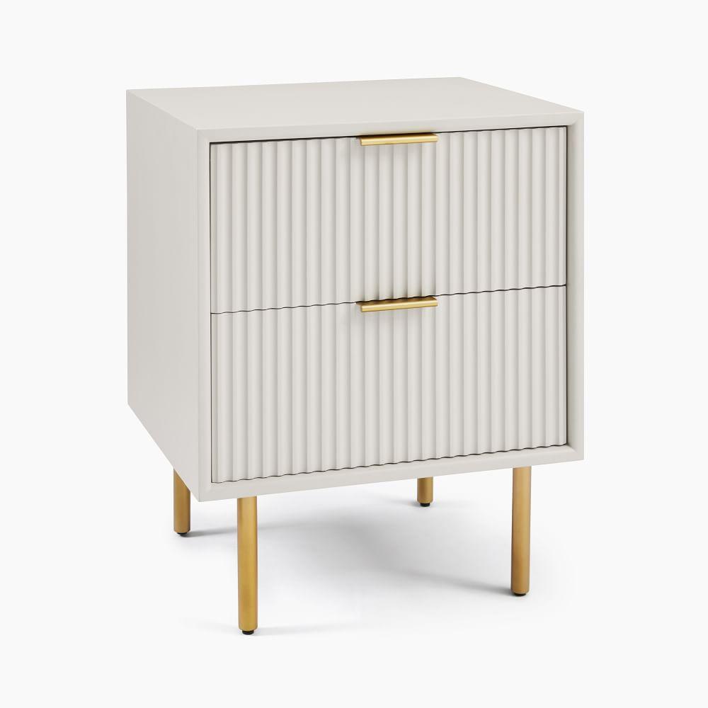 quinn lacquer bedside table haze antique brass