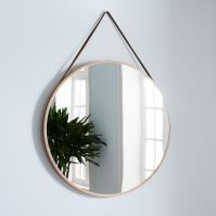 Modern Hanging Mirror - Oversized | west elm