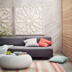 White Wall Decorations Living Room Chaise Lounge Placement In Graphic Wood Art Whitewashed Square West Elm