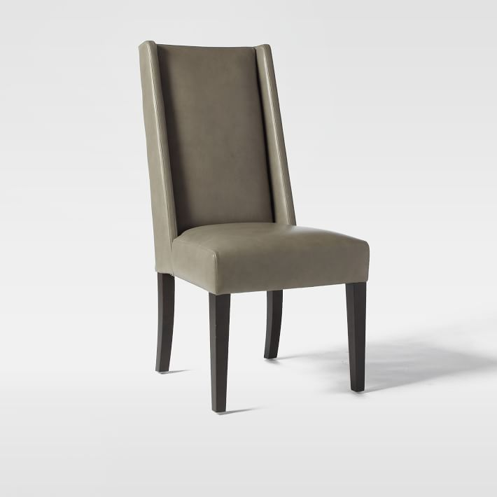 leather dining room chairs wedding chair covers gloucestershire willoughby west elm