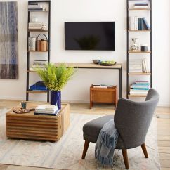 Retro Living Room Coffee Table Best Accent Chairs For Wing Chair West Elm