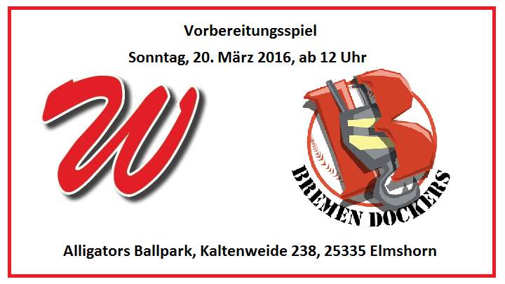 Spring Training: H1 vs. Bremen Dockers