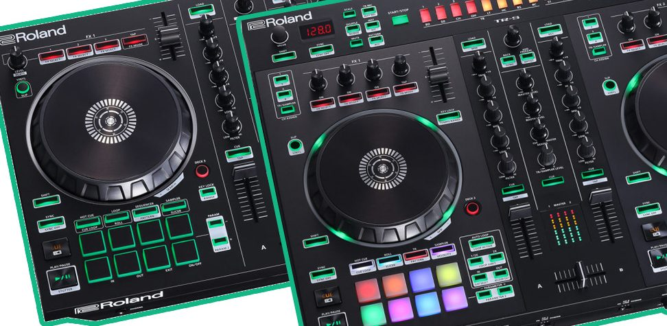 Roland DJ202 and DJ505 – new Serato controllers with a bit more beat.