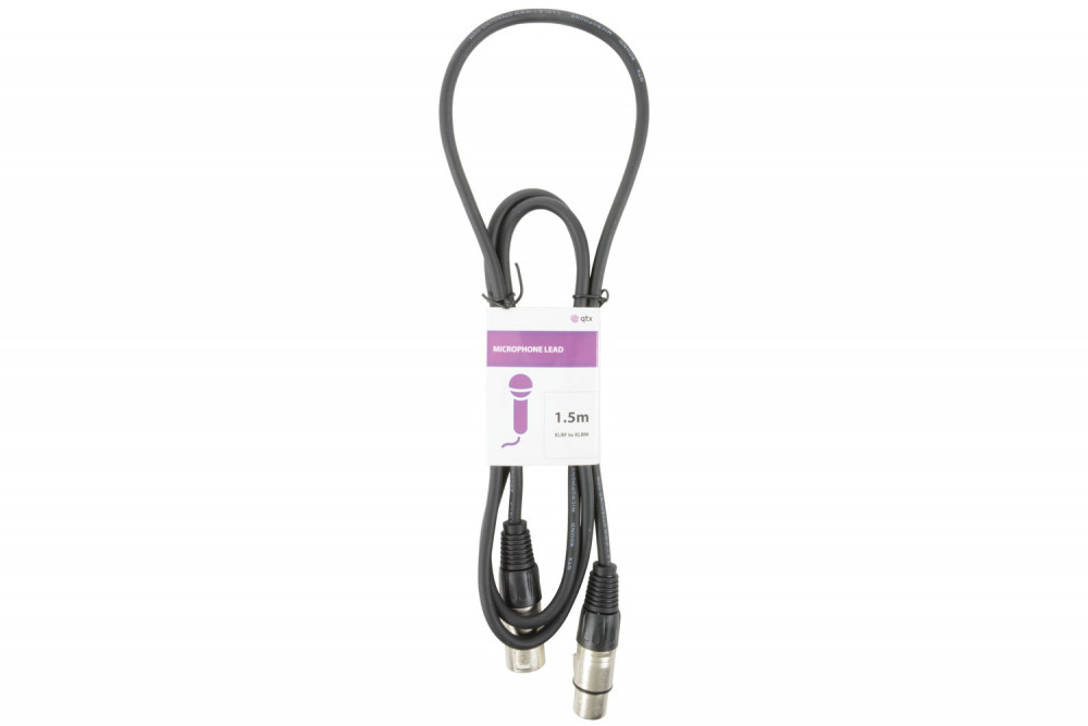 190080 SKYTRONICS XLR Female to XLR Male Microphone Cable