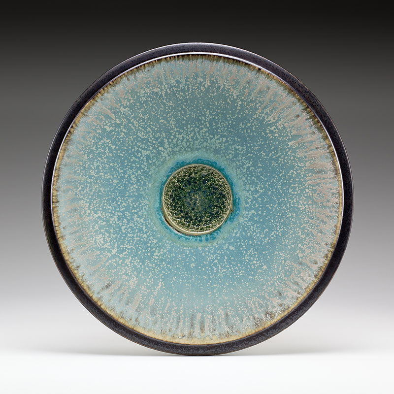 "Richard Aerni ""Blue Sky Platter"" Inquire"