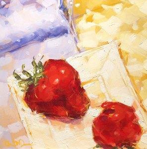 "Christina Johnson ""Summer Dreams"" 8x8 oil $150."