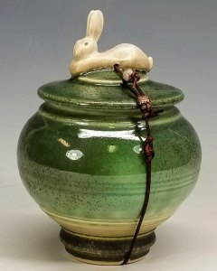 """Carolyn Dilcher-Stutz """"Rabbit Wish Pot"""" Inquire"""
