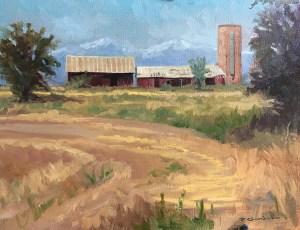 """Tom Gardner """"Near Loveland, CO"""" 11x14 oil $975."""