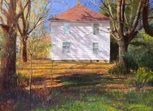 "GardnerRedFox - Tom Gardner ""Red Fox"" Oil Painting"