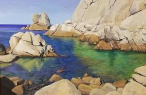 """Tom Gardner """"Ebb Tide"""" 24x36 oil $2,600."""
