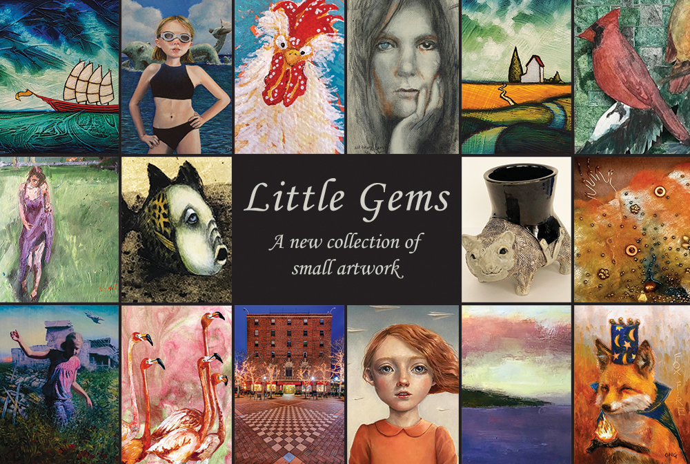 Little Gems Exhibit 2021 at West End Gallery