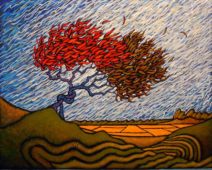 "MyersEnduringBond - 2021 GC Myers:<br>""Through the Trees"""