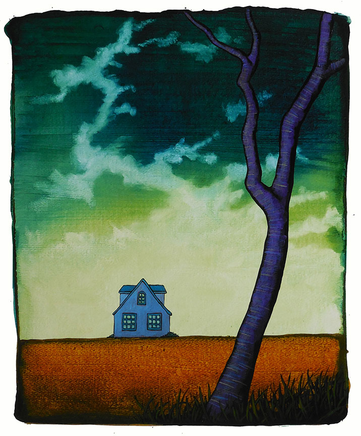 """MyersTheQuarantineHouse - 2021 GC Myers:<br>""""Through the Trees"""""""